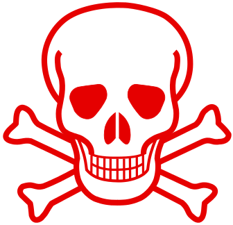 File:Skull and crossbones darktextred2.png